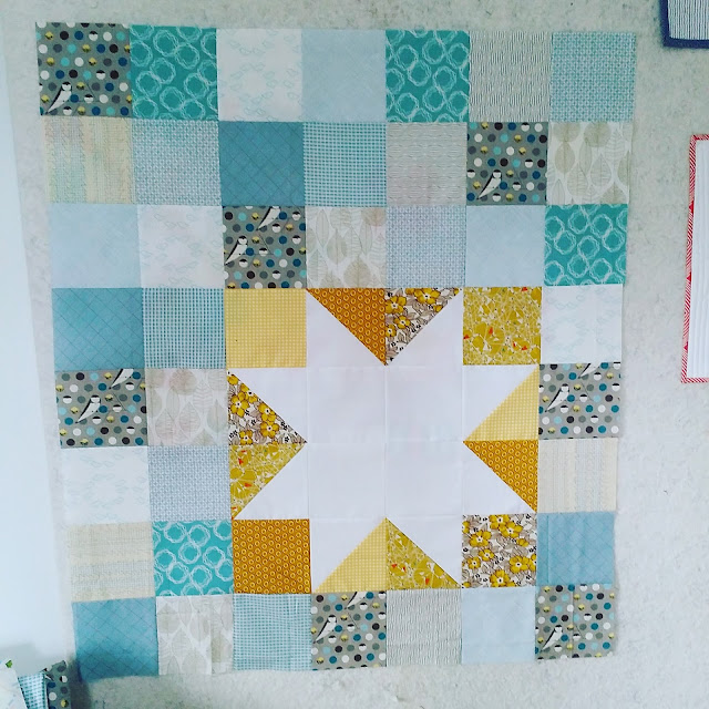 Chezzetcook Modern Quilts Keep On Truckin Almost Caught Up
