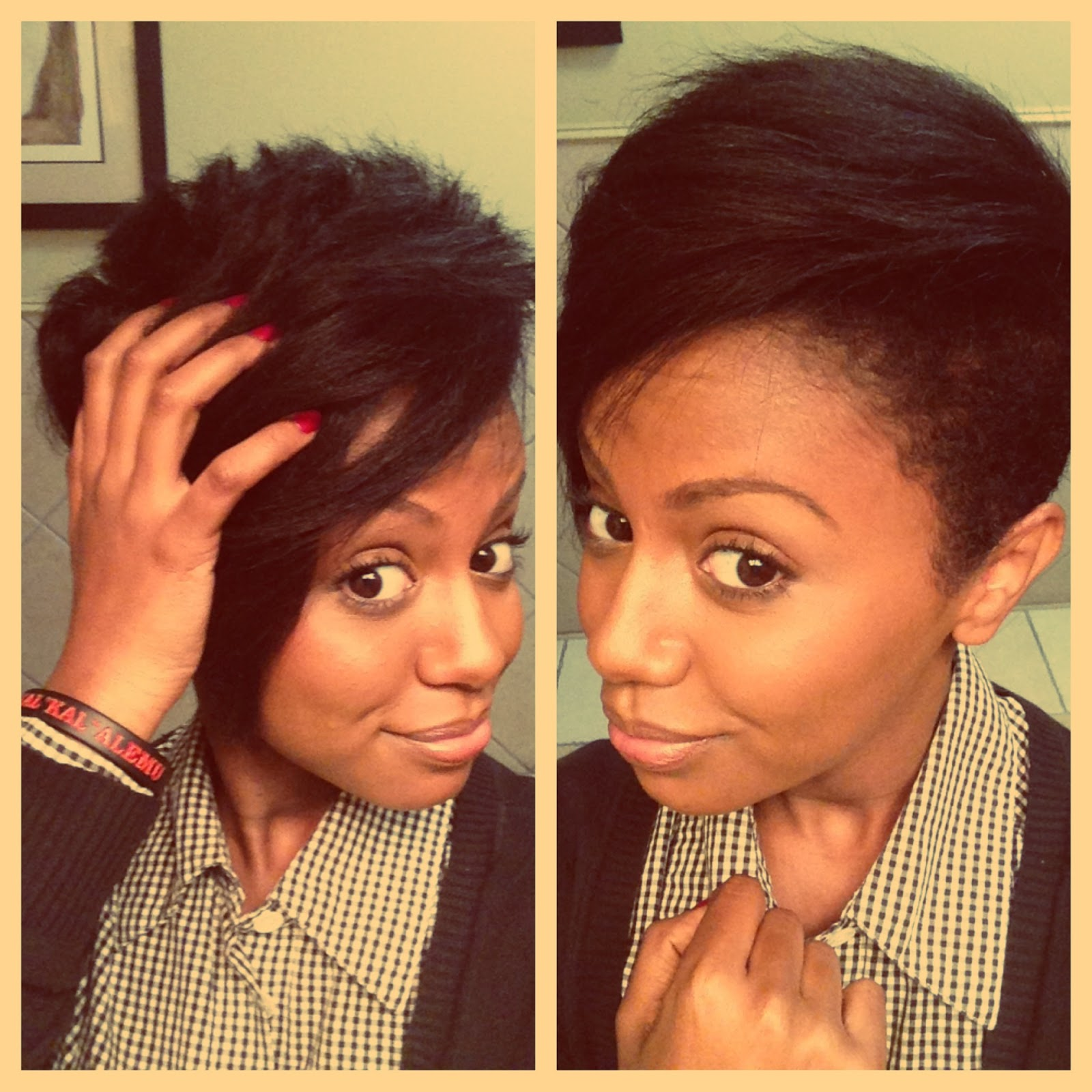let it go girl.- elle's second big chop | curlynikki | natural