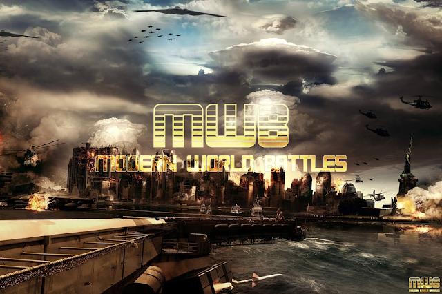 لعبة متصفح  مصرية حربية ربحية Modern World Battles Game