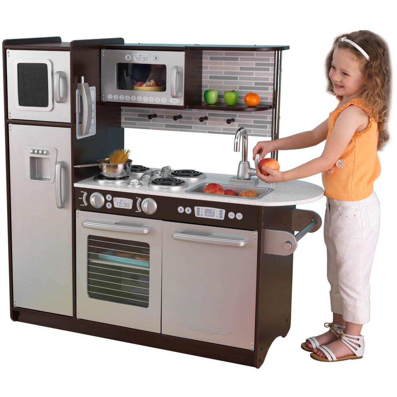 Best Kidkraft Espresso Kitchen Review Bestbuy Kidkraft Espresso Kitchen Review For Kid