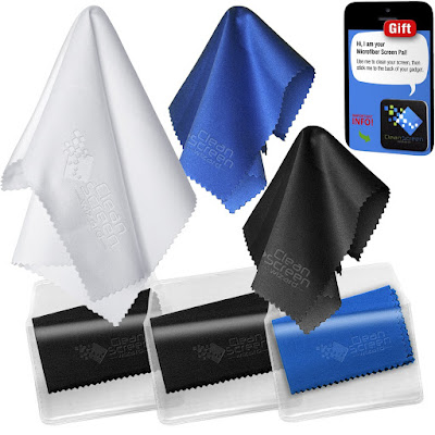 How to clean your monitor screen - Microfiber Cleaning Cloth 1