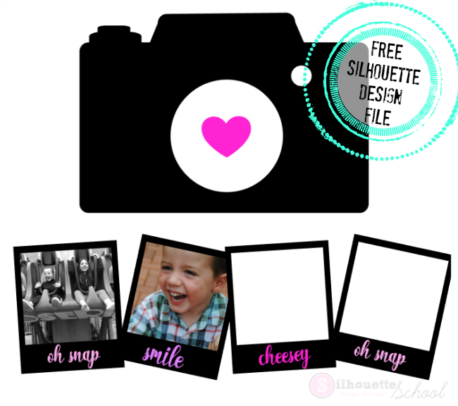 free silhouette design files, free silhouette studio files, downloan free silhouette designs, camera picture shapes, scrapbook layouts silhouette  cameo, silhouette cameo 3