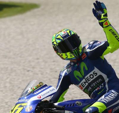 Kenapa Rossi Minta Maaf ke Suzuki Soal Transfer Vinales?