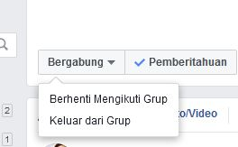 Cara Keluar Group Facebook