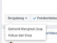 Cara Keluar Group Facebook