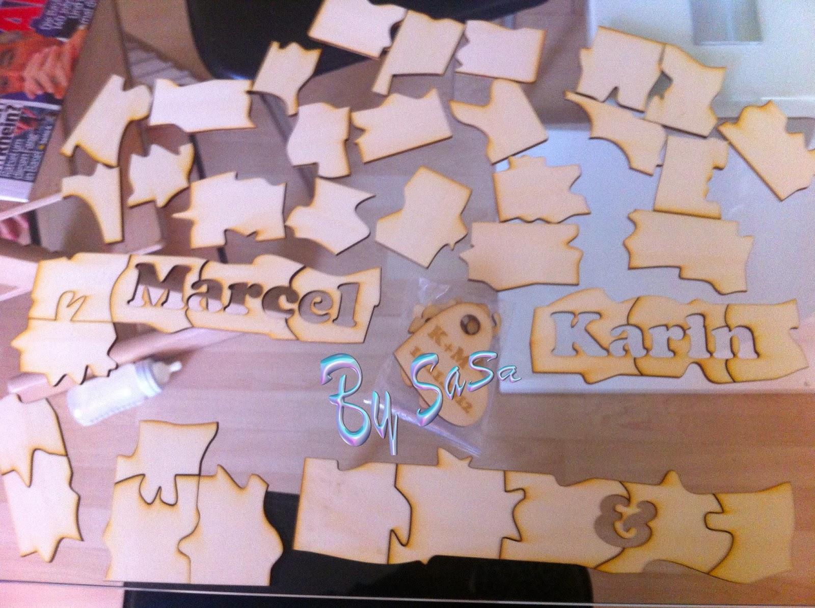 Made By Sasa Puzzle Als Hochzeitsgeschenk Von Allen Gasten