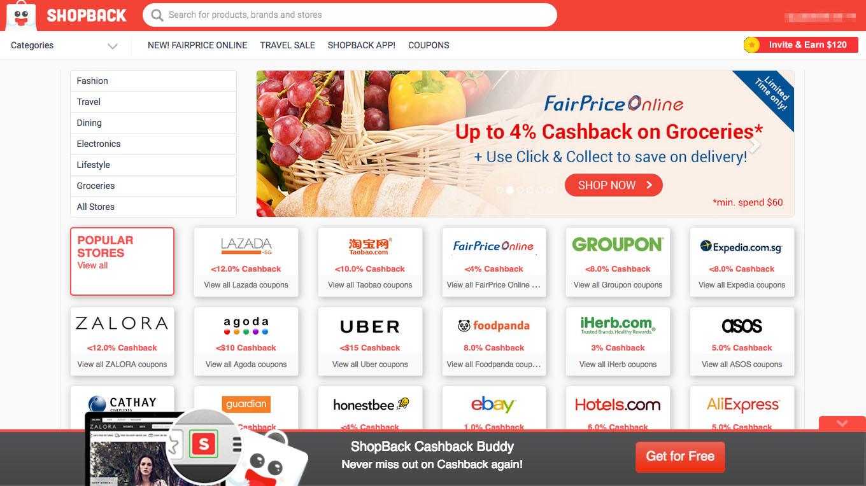 Online shopping deals