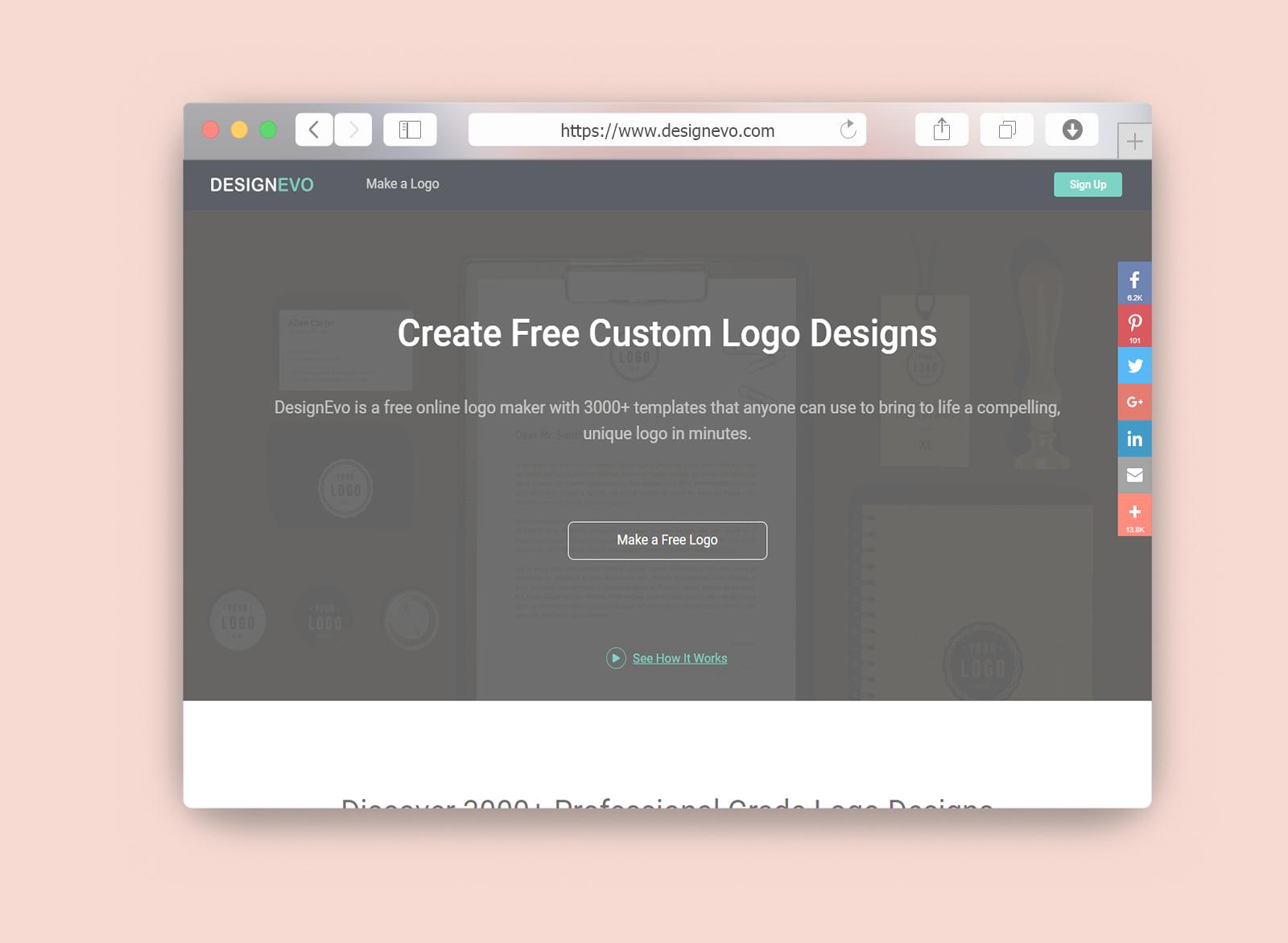 Free Online Logo Designevo Cikkmiradotcom