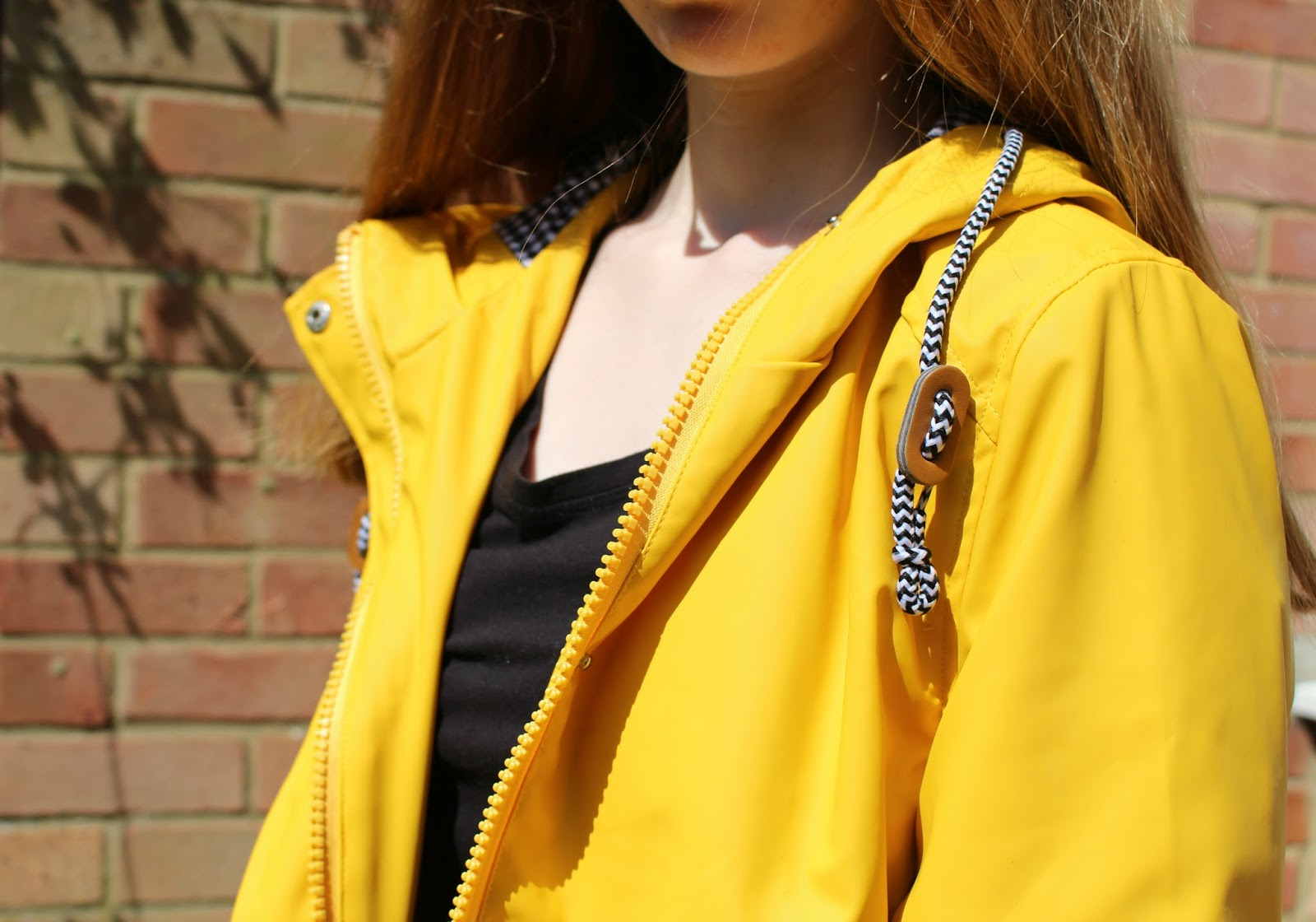 Here Comes The Sun | Outfit Snippet boohoo coats yellow rain mac