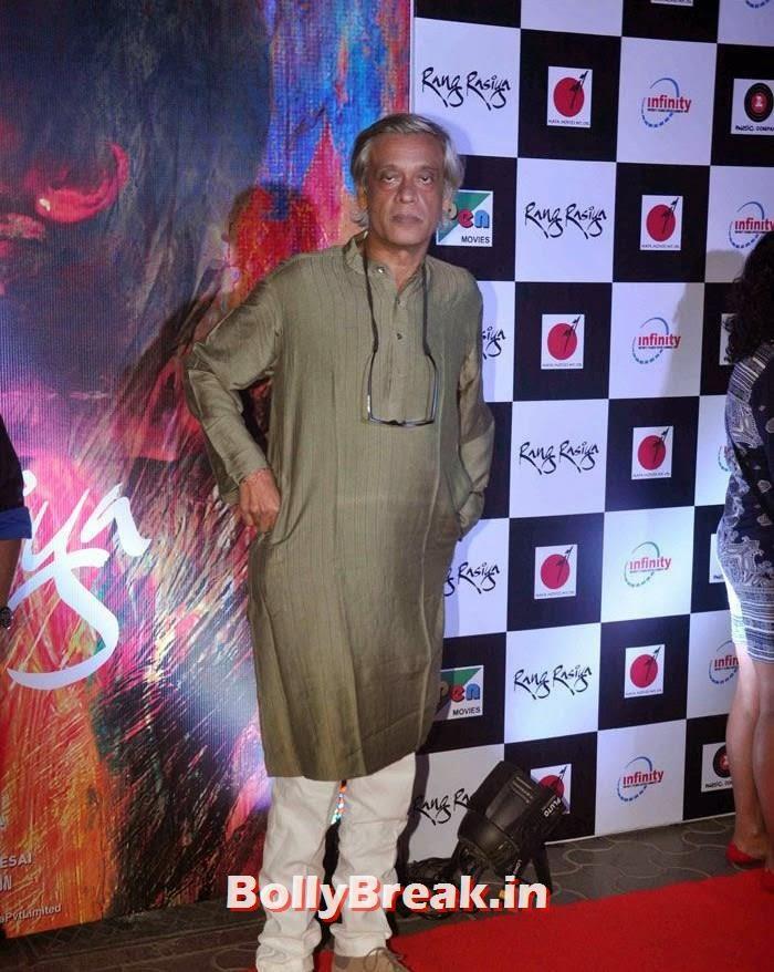 Sudhir Mishra, Photos from 'Rang Rasiya' Premier