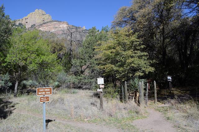 trailhead for Silver Peak