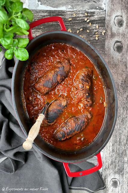 Italienische Rouladen | Rezept | Kochen | Essen