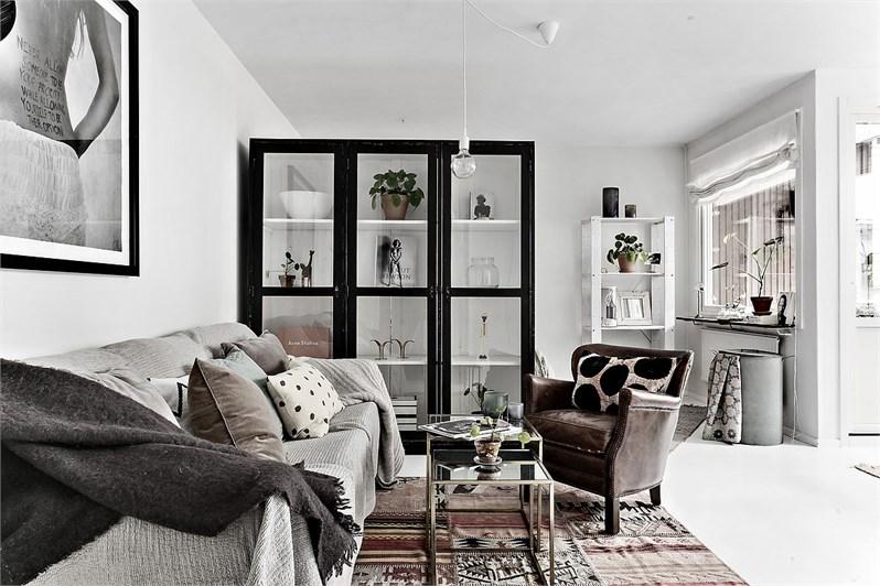 Arredare piccoli spazi uno studio di 50 mq home shabby - Arredare casa 50 mq ...