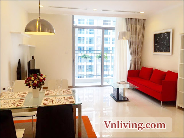 1 Bedroom apartment for rent in Vinhomes Central Park Binh Thanh