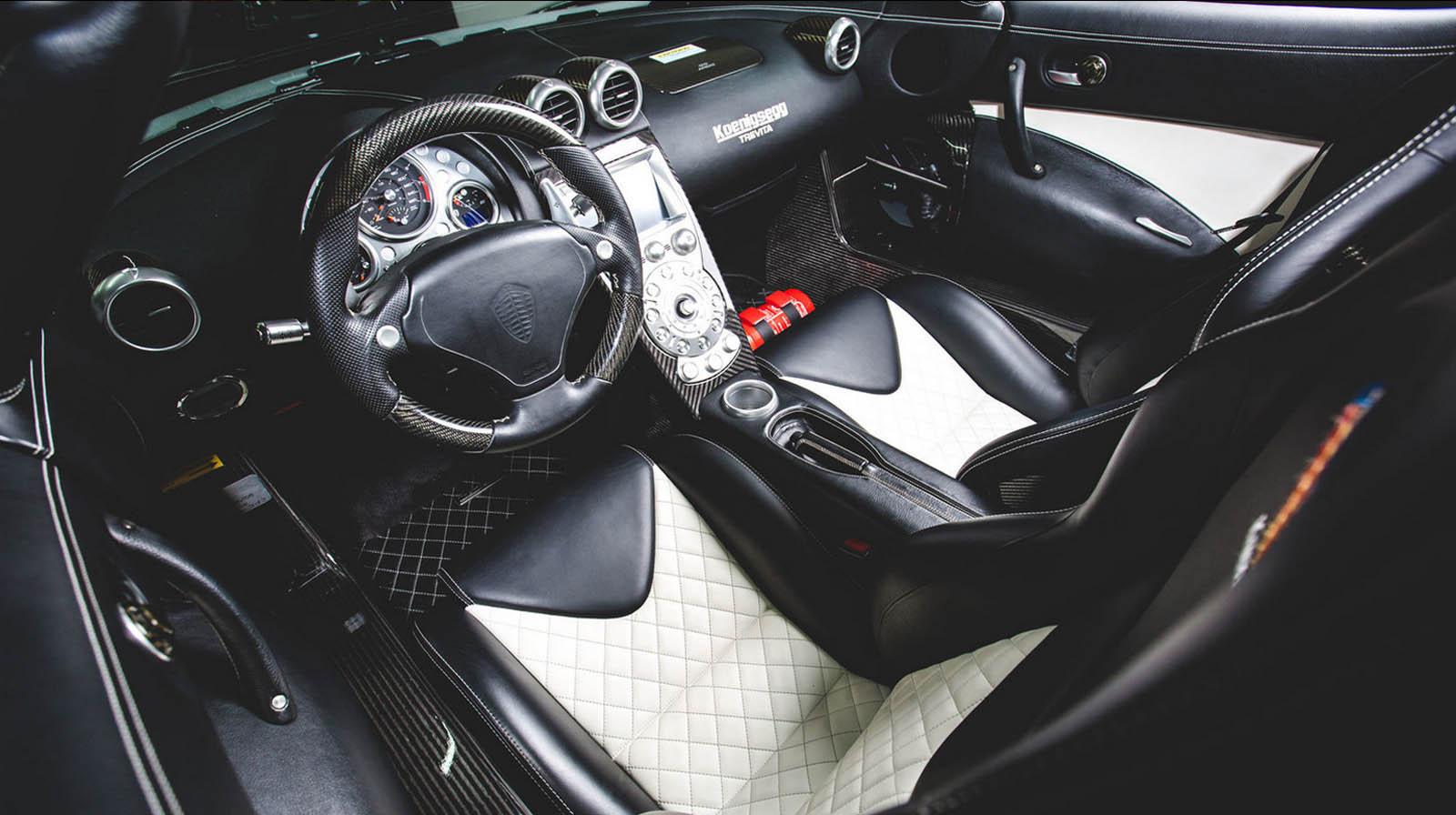 Floyd Mayweather S Koenigsegg Ccxr Trevita Set For