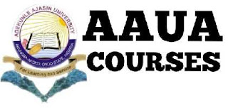 official-list-courses-offered-aaua-adekunle-ajasin-university