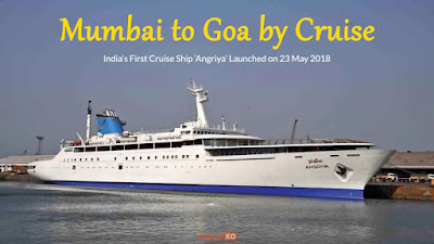 Cover Photo: Mumbai to Goa Cruise - Angriya, India's First Cruise