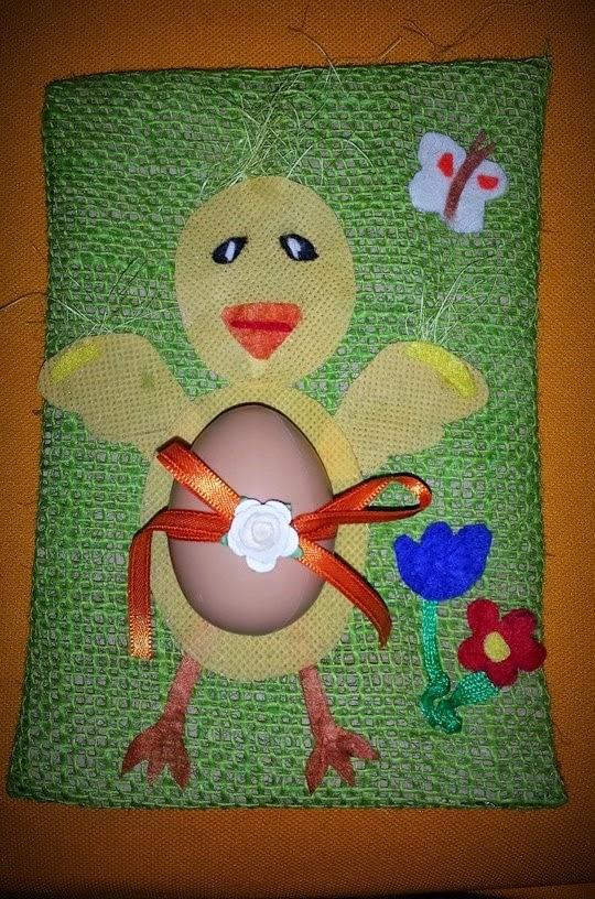 decorazioni per la tavola di Pasqua