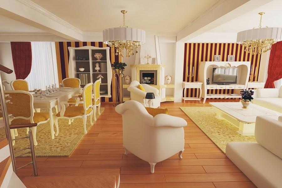 Design interior case stil clasic - Amenajare interioara living modern Constanta
