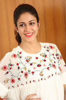 Lavanya Tripathi in Summer Style Spicy Short White Dress at her Interview  Exclusive 197.JPG