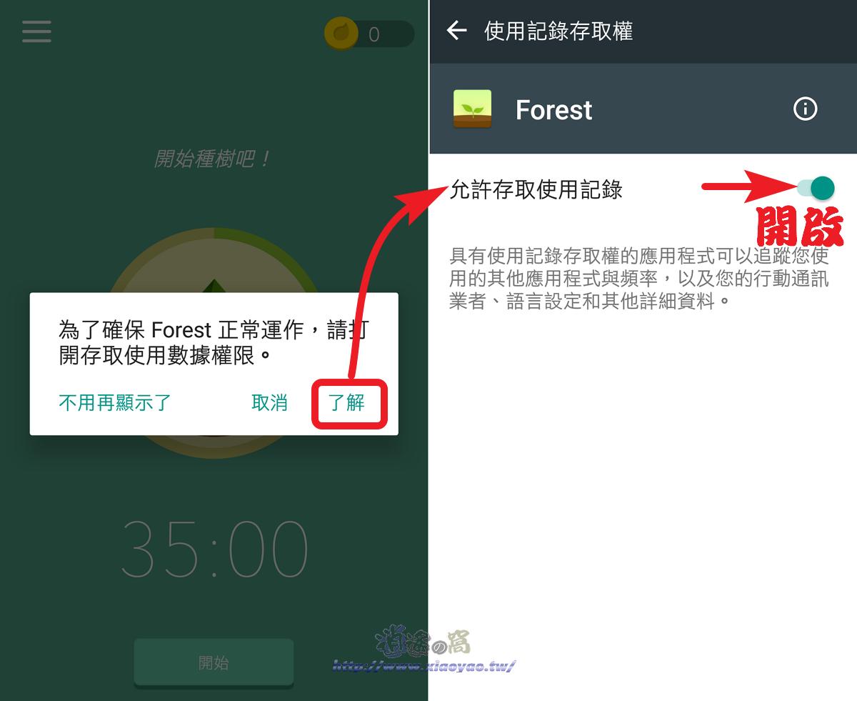 Forest 專注森林提醒專心APP