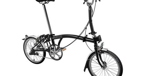 Brompton M3L 2018 Folding Bike.Harga Rp. 16.600.000