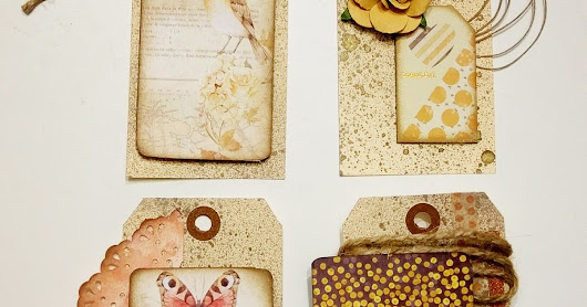 Amber Moon Gift Tags