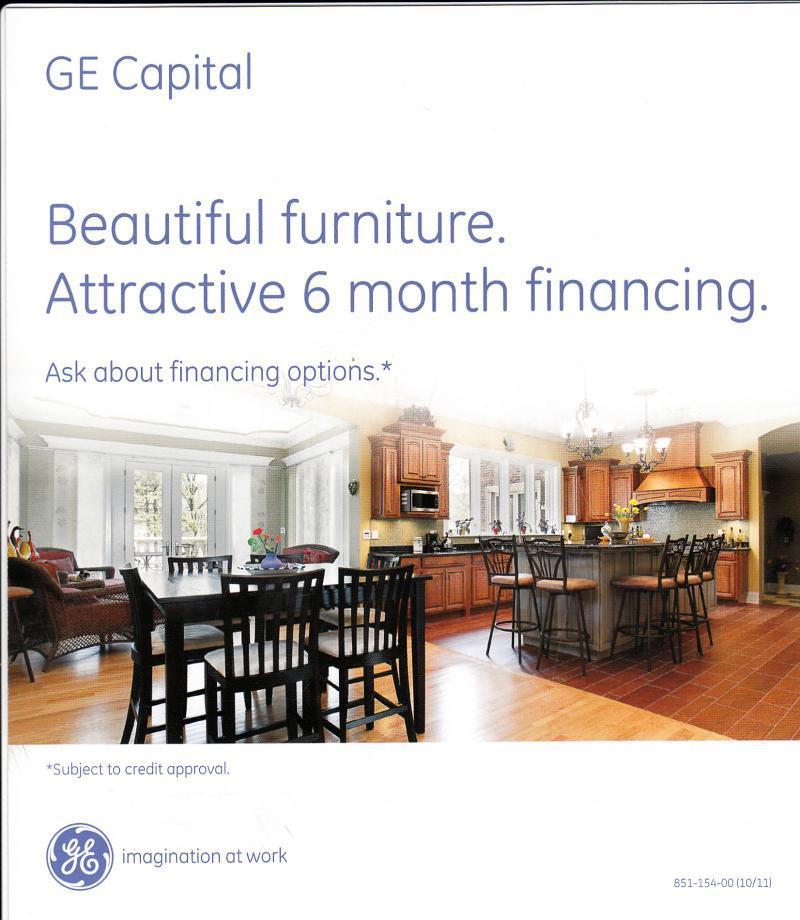 Ge Capital Home Design Credit Card