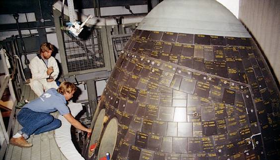 space shuttle heat shield tiles - photo #39