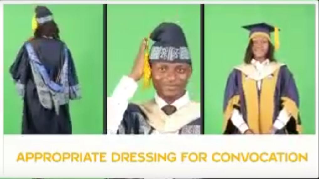 9dd40a89985 LASU Convocation Dress Code for all Graduates  Photo + Video