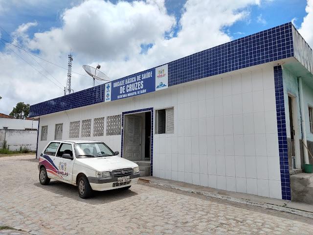 Frente: UNIDADE BÁSICA DE SAÚDE DO DISTRITO CRUZES