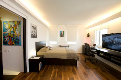 Tips make your bedroom design is similar to hotel bedrooms
