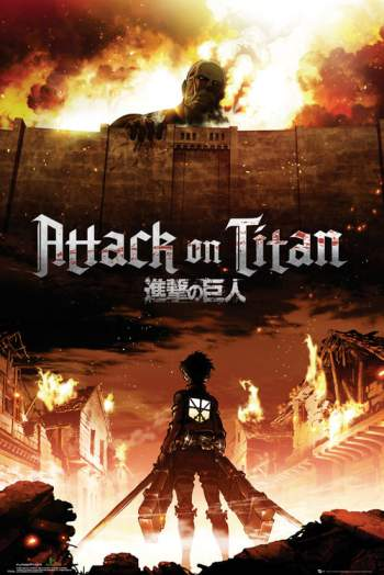 Attack On Titan 1ª e 2ª Temporada Torrent – WEB-DL 720p Legendado
