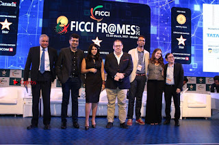 Ekta Kapoor Anurag Kashyap & Ramesh SippyAt at FICCI FRAMES 2017  0123.JPG