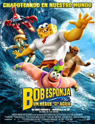 Bob Esponja Un héroe fuera del agua 2015 online