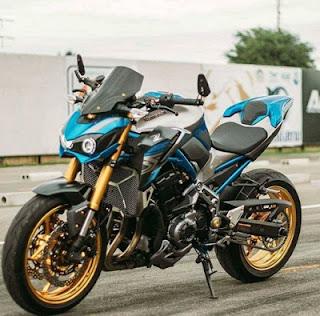 modifikasi terbaru Kawasaki Z900