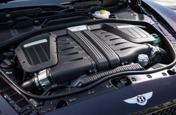 2018 Bentley Continental GT Engine