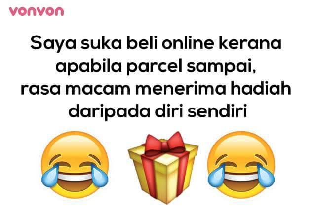 Sebab Saya Suka Shopping Online!