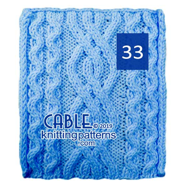 Cable Knitting Pattern 33