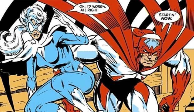 siapa Hawk & Dove dalam Komik Teen Titans