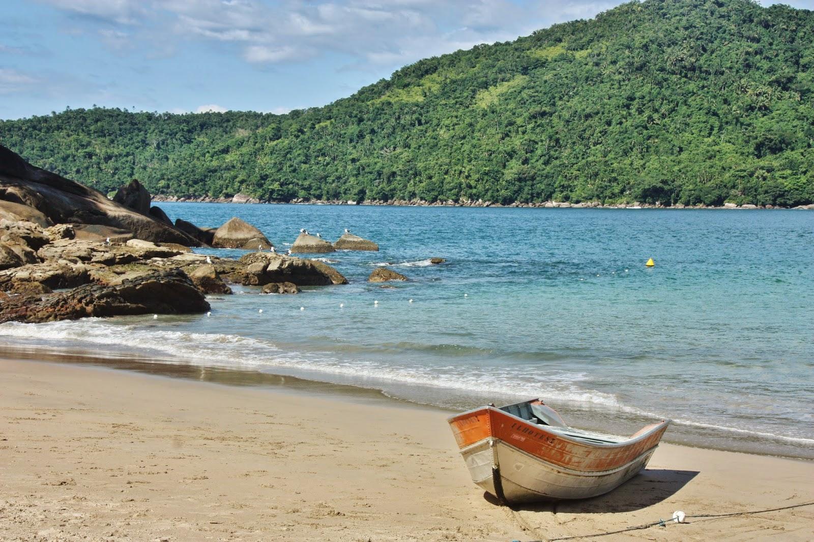 Praia do Meio de Trindade, em Paraty