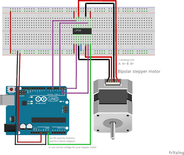 Jangeox 39 blog microstepping with arduino for Arduino stepper motor driver code