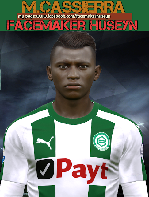 Mateo Cassierra Face For PES 2017