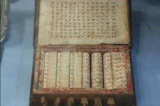 conjunto seculo 18 ossos de napier