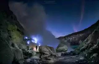 kegiatan malam digunung ijen