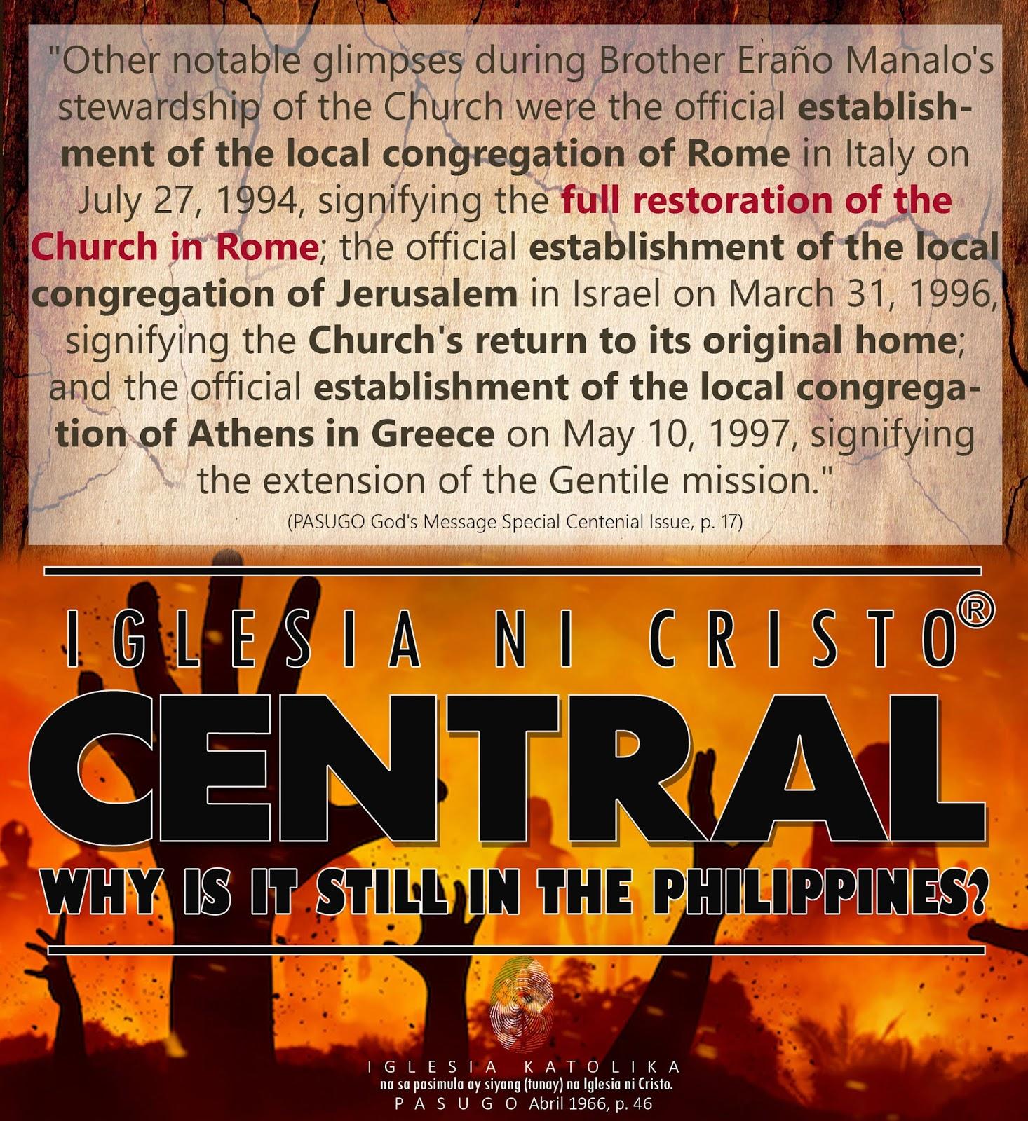 Iglesia ni cristo and dating daan debate live cnn