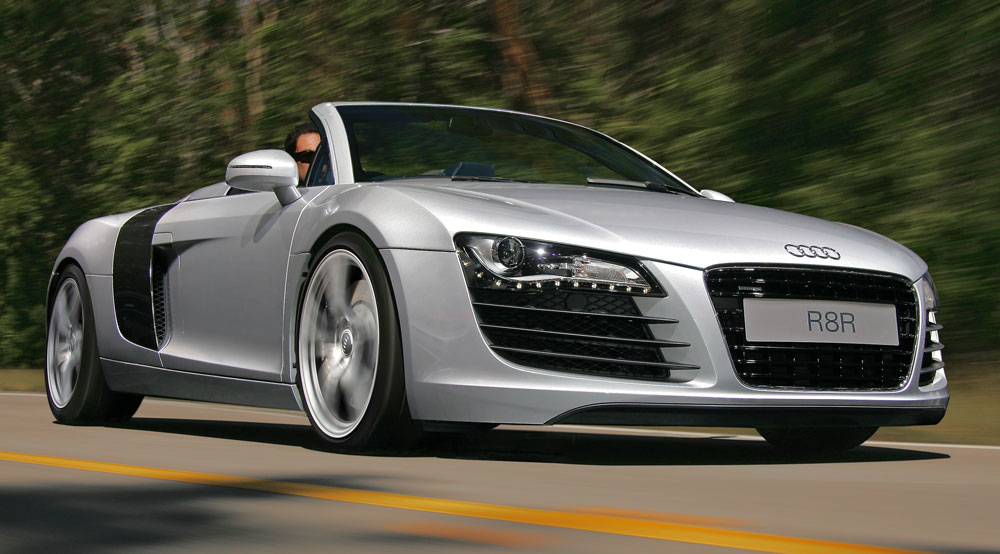 World Best Cars Audi R8 Spyder