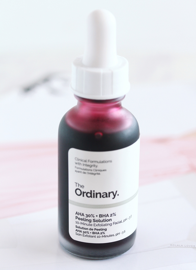 Drunk Elephant TLC Sukari Babyfacial vs. The Ordinary AHA 30% + BHA 2% Peeling Solution, A Comparison of Drunk Elephant TLC Sukari Babyfacial & The Ordinary AHA 30% + BHA 2% Peeling Solution, Is the The Ordinary AHA 30% + BHA 2% Peeling Solution a dupe for Drunk Elephant Babyfacial