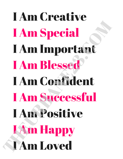 affirmations for positive living