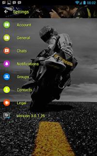 BBM Whatsapp Valentino Rossi V3.0.1.25 Apk Terbaru